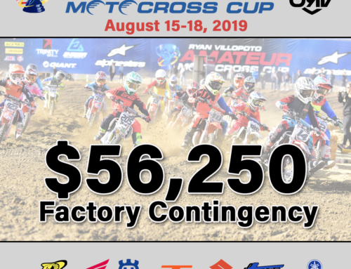 Factories Contingency Exceeds $56,000 for RV Cup